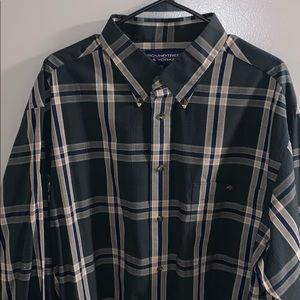 Roundtree and Yorke 2XLT Button Down Long Sleeve